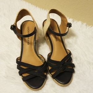 Lucky Brand Women's Wedges Size 7.5
